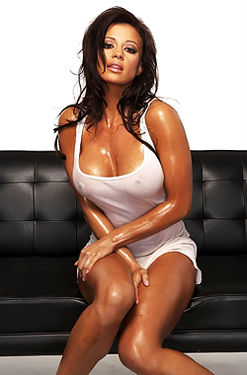 Candice Michelle Nude Tied Up