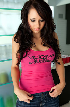 Natasha Belle Victorias Secret Bombshell